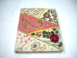 Patch Work Fabric Covered Photo Albums