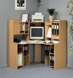 Computer Desk and Bench