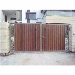 Wooden Designer Gate