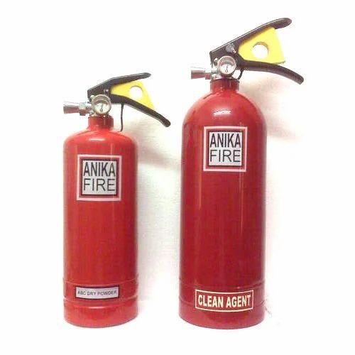 Agent Fire Extinguisher Extinguisher Clean Agent