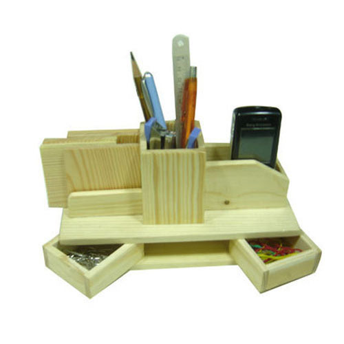 Corporate Gifts Wooden Wooden Office Accessories Stand