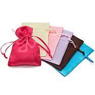 Satin Favor Bags in Assorted Colors