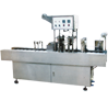 Automatic Mono Block Linear Bottle Filling and Foil Cutting, Placing and Sealing Line