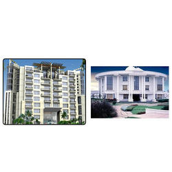steel glazing for residential complexes