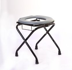 Cut Stool with Basket Premium