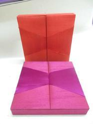 Fabric Covered Wedding Invitation Boxes