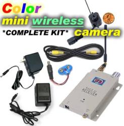 Spy Wireless Camera  Kit