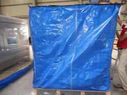 Covered with HDPE Tarpaulin