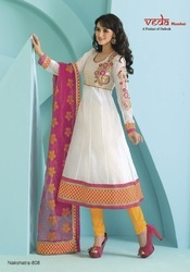 Traditional Anarkali Churidar Suit