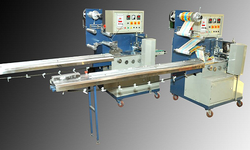 soild and uniform shaped product packing machine
