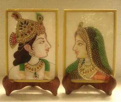 Radha Krishna Marble Tiles
