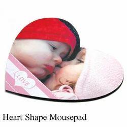 Heart Shape Mousepad Sublimation Heart Shape Mouse Pads