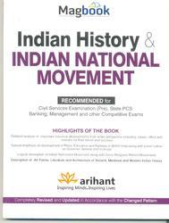MAGBOOK INDIAN HISTORY &INDIAN NATIONAL MOVEMENT