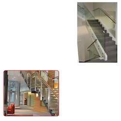 Stainless Steel Glass Railings for Office