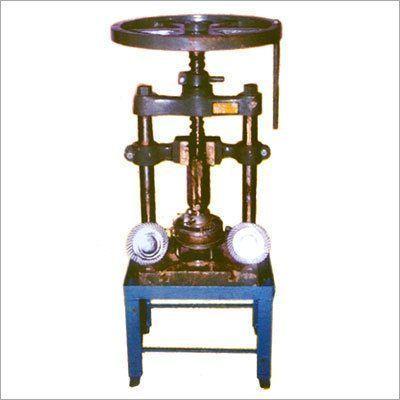 Single Die Manual Paper Plate Machine