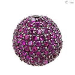 ruby gemstone bead ball finding