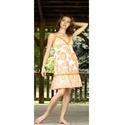 Floral Short Gown