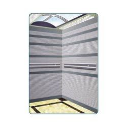 Stripes Etched Stainless Steel Cabin