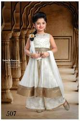 Plazo Kids Anarkali Suit