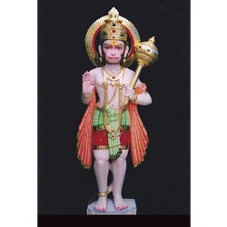 Hanuman Colored Idol