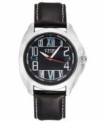 VESPL Scenic Black Dial Analog Men's Watch-VS142