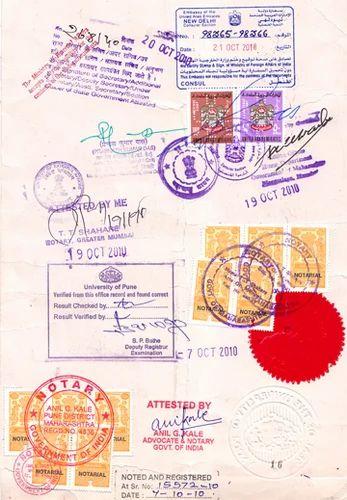 Pcc certificate apostille services single status certificate certificate attestation yelopaper Images