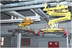 Elbow Lift Z Link Type Handling System