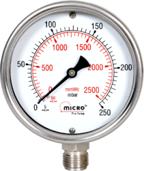 Low Pressure Gauges