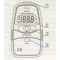 Manual Digital Thermometer