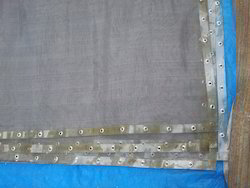 Wire Mesh with Eyelets for Cement Plant