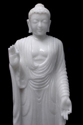 Pure+White+Marble+Lord+Buddha