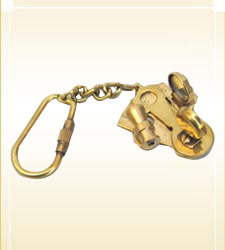 Nautical Key Chain Sextant