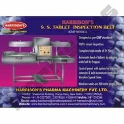 Stainless Steel Tablet Inspection Belt