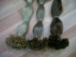 Nail, U-Tipped, I-Tipped, Natural Pre-Bonded Hair Strands