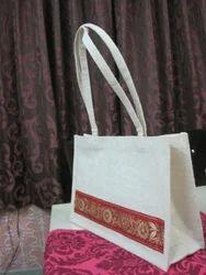 Pattern Design Jute Bag