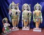 Marble Ram Lakshman Sita Statue