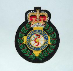 London Ambulance Service-Embroidered Badge