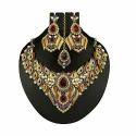 Indian Royal Kundan Necklace Set