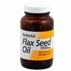 Flax Seed 1000mg - 60 Capsules