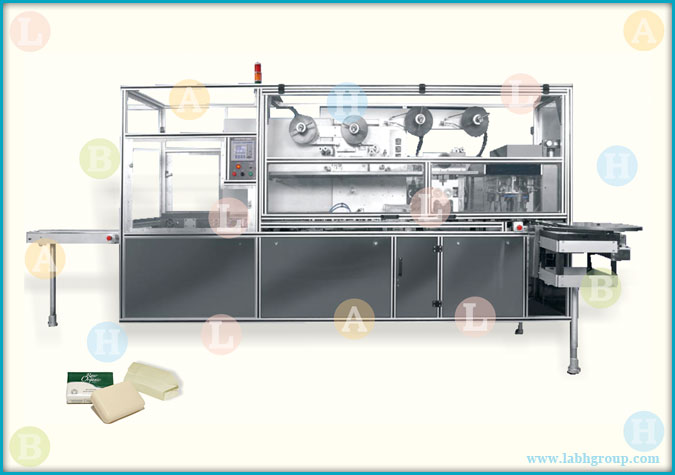 Automatic Bathing Soap Wrapping Machine