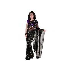 Black & Gold Saree