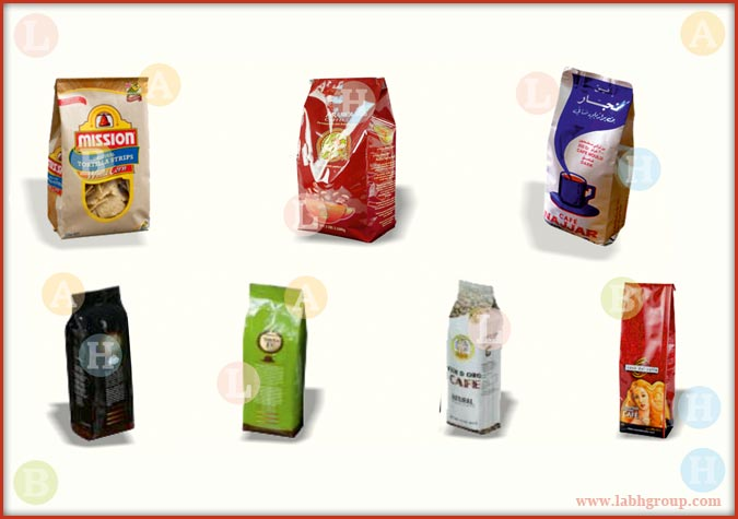 Printed Sachet with Gussets