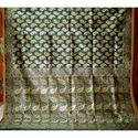 Gicha Green Silk Saree