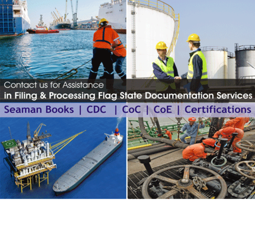 Panama Seaman Book (CDC) - Master and Deck Officers