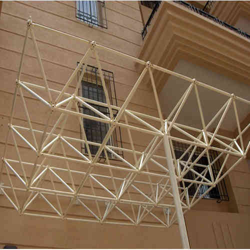 Steel Space Frame Structures Prefabricated Tubular Steel
