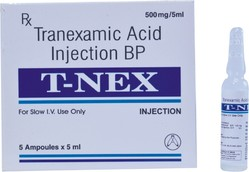 Tranexamic Acid Injection 5 ml.