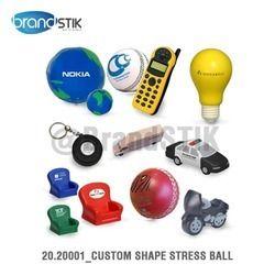 custom shape stress ball