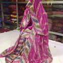 Pink Gharara with Heavy Border