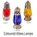 Coloured Glass Lamp