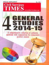 CST 4 General Studies 2014-15